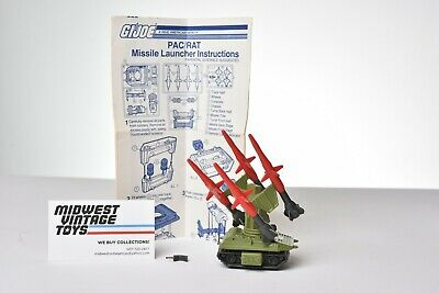 $ CDN12.70 • Buy Vintage GI JOE - VEHICLE 1983 PAC / RAT MISSILE LAUNCHER 100% COMPLETE - HASBRO