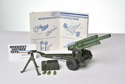 $ CDN37.51 • Buy Vintage GI JOE - VEHICLE 1984 Mountain Howitzer 100% COMPLETE - HASBRO