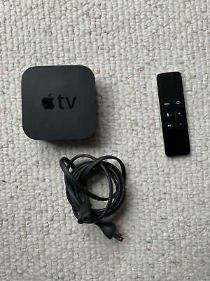 AU64.35 • Buy Apple TV (4th Generation) 32GB HD Media Streamer - A1625 - Excellent Condition