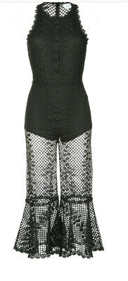 AU150 • Buy Alice McCall Boogie Nights Jumpsuit Black Size 8