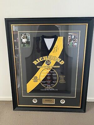 AU296 • Buy Richmond Team Of The Century.  Signed By Tom Hafey