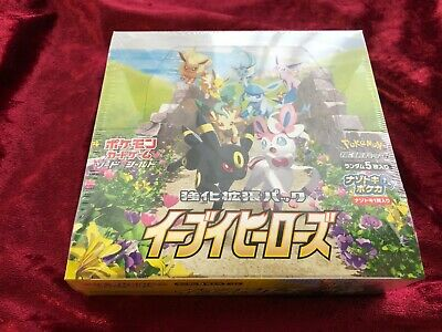 $124.88 • Buy Pokemon Card Game Enhanced Expansion Pack Eevee Heroes Box S6a Japanese