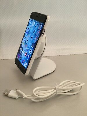 AU18.74 • Buy IPhone 6/6S Qi Wireless Charging Case And Wireless Charger