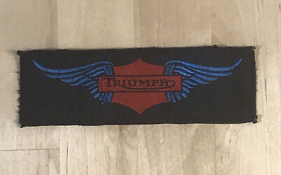 £7.99 • Buy Vintage TRIUMPH Motorcycle Bike Sew On Patch