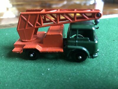 £24.99 • Buy Budgie Toys Diecast Model Vintage Rare 22 Bedford Tk Crane With Hook Intact
