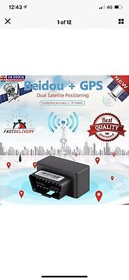 £16 • Buy Car / Vehicle GPS Realtime Tracker OBD Locator Tracking Device Spy GSM/SMS - UK