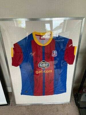 £37 • Buy Signed Crystal Palace Home Shirt 2012-2013