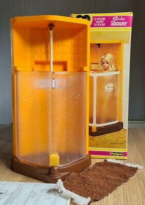 £33 • Buy Vintage Sindy Doll Shower Boxed And Working In Orange 1970's Bathroom House