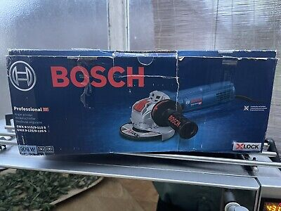 AU90.66 • Buy Bosch GWX 9-115 S X Lock Angle Grinder 115mm 110v Brand New Unused