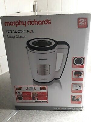 £70.75 • Buy Morphy Richards Soup Maker Used Once 6L In Box