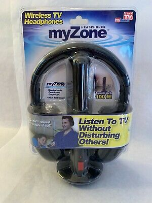 $ CDN46.76 • Buy MyZone Wireless TV Headphones Listen To TV Without Disturbing Others New Sealed