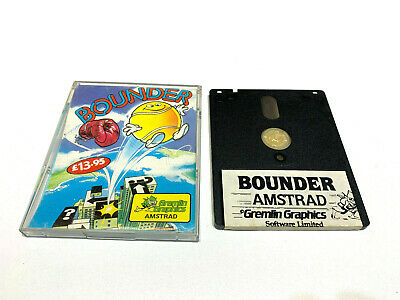 £25.55 • Buy Bounder / Gremlin Graphics Disk Disquette Amstrad Cpc 6128