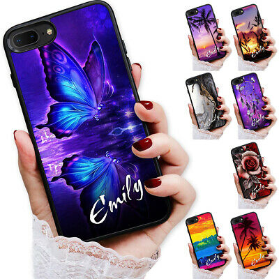 AU9.99 • Buy Personalised Name Case Cover For IPhone 12 11 Pro Mini Max 8 7 6 Plus X XR SE