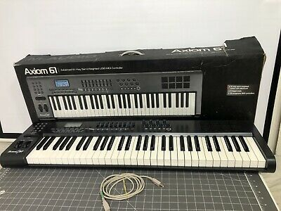 $199.95 • Buy M-Audio Axiom 61 Keyboard Controller! - Open  Box LOCAL PICKUP IN LOS ANGELES CA