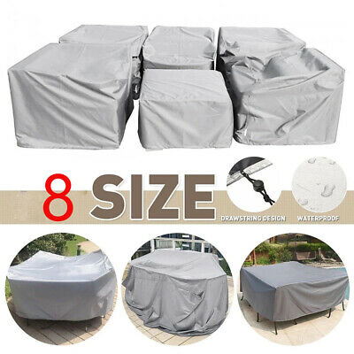AU50.99 • Buy Outdoor Furniture Covers Waterproof Patio Table Sofa Chair  Dust Proof Cover