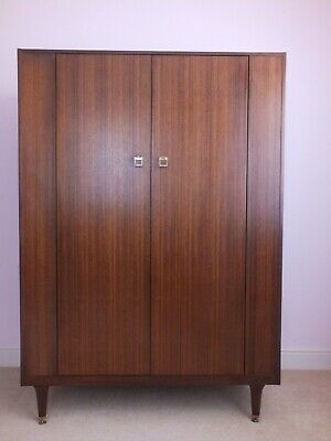 £179 • Buy G PLAN Early 1960's E.GOMME DOUBLE WARDROBE IN EXCELLENT ORIGINAL CONDITION