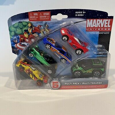 $ CDN18.14 • Buy Marvel Diecast Collection Multipack Cars 5 Pack Maisto GM Motors Super Heroes