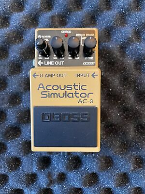 $ CDN17.54 • Buy Boss AC-3 Simulator Guitar Effect Pedal