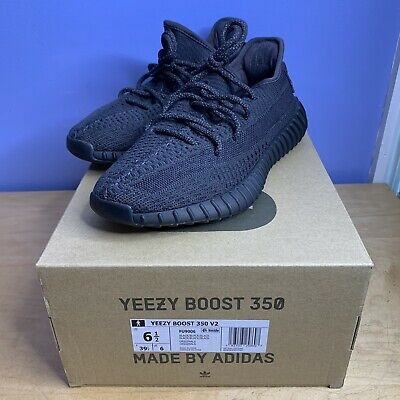 $ CDN375.08 • Buy AUTHENTIC Adidas Yeezy Boost 350 V2 Black Non-Reflective Size 6.5 FU9006