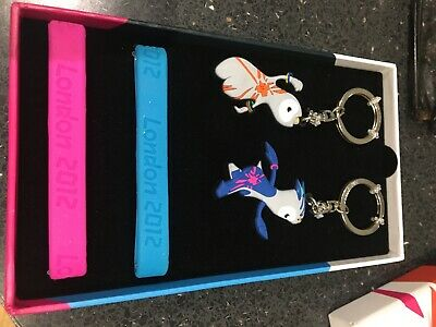 £5.99 • Buy Paralympic Official London  2012  product Key Rings And Wrist Bands Unopened