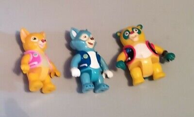 £5 • Buy Rare Disney Junior Special Agent OSO Figures OSO, Dotty & Wolfie