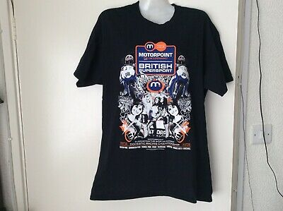 £3.99 • Buy 2014 Motorpoint British Supersport T Shirt Size L  New