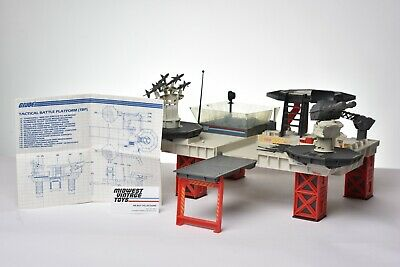 $ CDN1.20 • Buy Vintage GI JOE - VEHICLE 1985 TACTICAL BATTLE PLATFORM 100% Complete - HASBRO