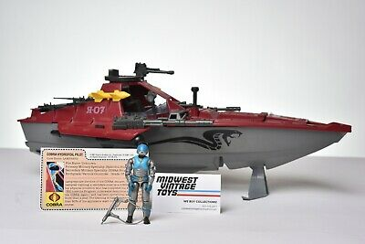 $ CDN1.20 • Buy Vintage GI JOE - VEHICLE 1985 MORAY HYDROFOIL W/ LAMPREYS W/ Search Light Lens