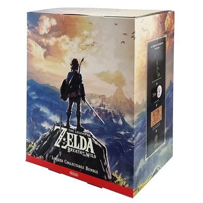 AU443.95 • Buy The Legend Of Zelda Breath Of The Wild Limited Edition Switch Game NEW