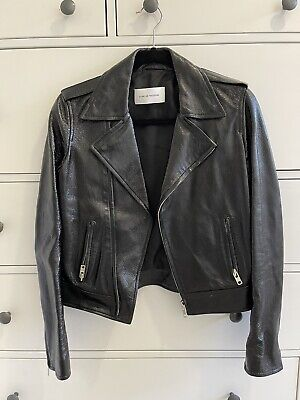 AU600 • Buy Scanlan And Theodore Leather Jacket - Size 8