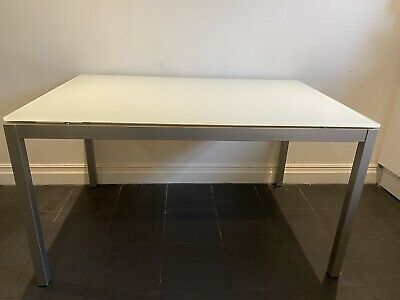 £100 • Buy Calligaris Tempered Glass Dining Table