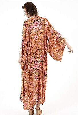 AU1499 • Buy Spell & The Gypsy Spell Designs Babushka Kimono Amber OS EUC