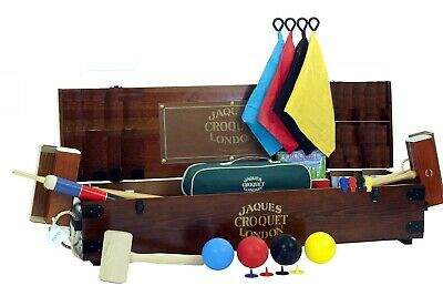 £1999.99 • Buy Jaques Of London Championship Croquet Set Luxury 4 Player Set *Missing Hoops*