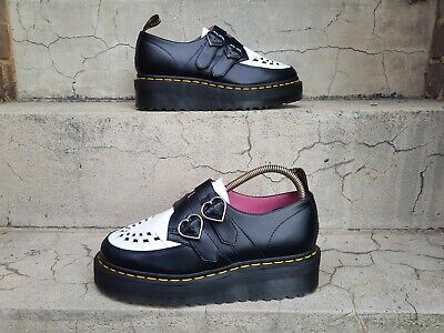 £160 • Buy Dr Martens Lazy Oaf Buckle Creepers Black/white UK 6 EU 39 US 7 Limited Edition