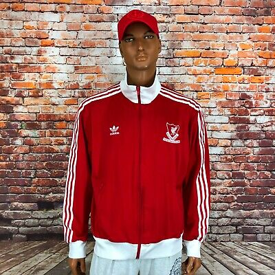 £46.12 • Buy Adidas Originals Liverpool Football Soccer Track Top Red White Jacket Size Xl