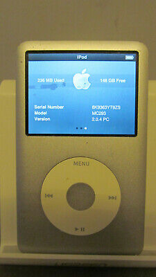 £78.50 • Buy IPod Classic 160GB Silver Model A1238 7th Generation SCREEN MARKED 8K9363YT9ZS