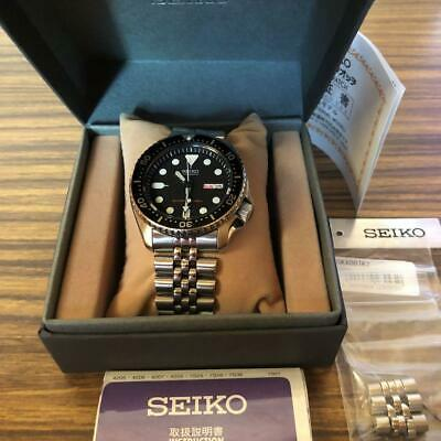 $ CDN682.11 • Buy Seiko Black Boy SKX007K2 Divers Day Date Automatic Mens Watch Authentic Working