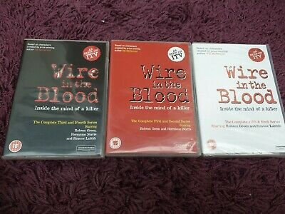 £9.59 • Buy Wire In The Blood Series 1 To 6