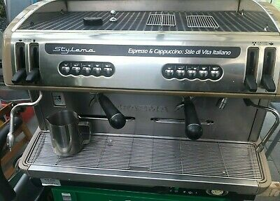 £999 • Buy Commercial , Professional Restaurant Coffee Machine 2 Group Stylema Quick Sale!