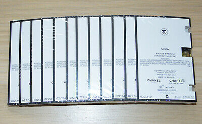 £38.94 • Buy Chanel Les Exclusifs Misia Sealed Pack Of 12 Samples X 1.5ml Each NEW