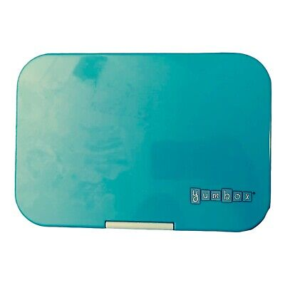 AU30.05 • Buy YUMBOX Leakproof Bento Lunch Box Plastic Container Aqua Blue To Go For Kids EUC