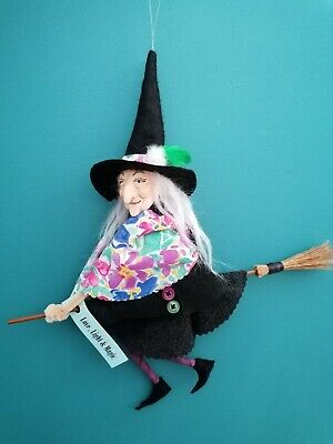 £18 • Buy Handmade Pendle Witch,kitchen Witch, Art Doll, OOAK
