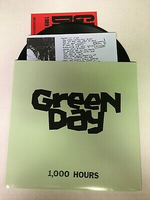 £21.50 • Buy Green Day 1000 Hours 7  Record Black Vinyl Mint Condition