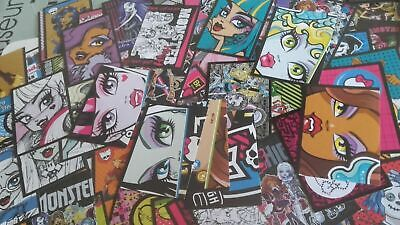 £8.54 • Buy Lotto 50 Figurine - Stickers -serie  PANINI # MONSTER HIGH_by MATTEL 2013@@5