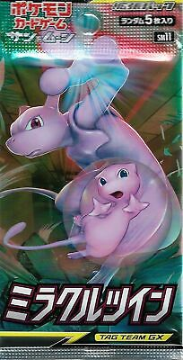 $3.70 • Buy Pokemon Card Miracle Twin Booster Pack SM11 Tag Team GX Japanese Sealed New