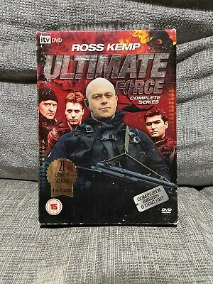 £5 • Buy Ultimate Force - Complete Series (DVD, 2008, 8-Disc Set, Box Set)
