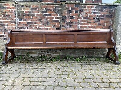 £275 • Buy Gorgeous 10ft Victorian Church Pew C.1880 Pitch Pine Number '30' Free Standing