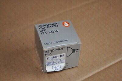 £4.99 • Buy Vintage Osram Xenophot Hlx 64 627 Efp 12v 100w Projector Lamp Made In Germany