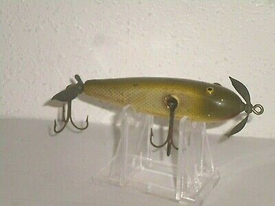 $ CDN13.21 • Buy Vintage Paw Paw Wounded Minnow Wood Fishing Lure