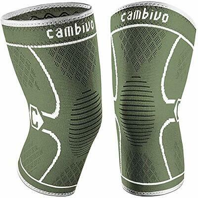 $17.71 • Buy CAMBIVO 2 Pack Knee Brace Knee Compression Sleeve For Men And Women Knee Supp...